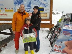 Vater DI Mathis Barz, Noël Silvester, Gabriele Plank