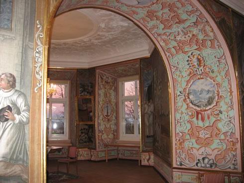 Abendrot im Fürstenzimmer
